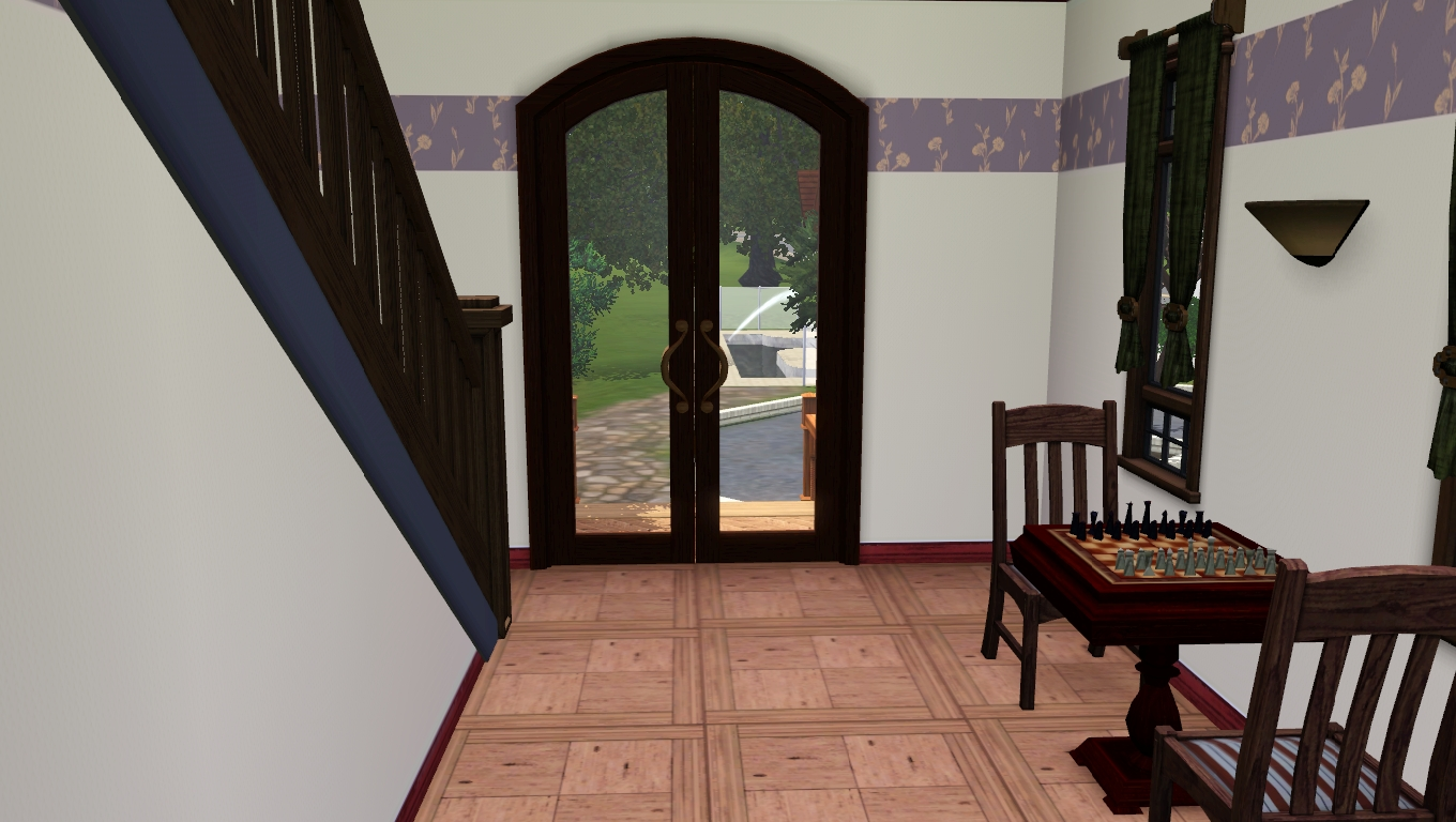 Guest house stairs
