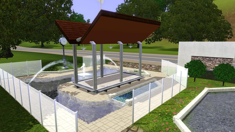 Fountain pavilion
