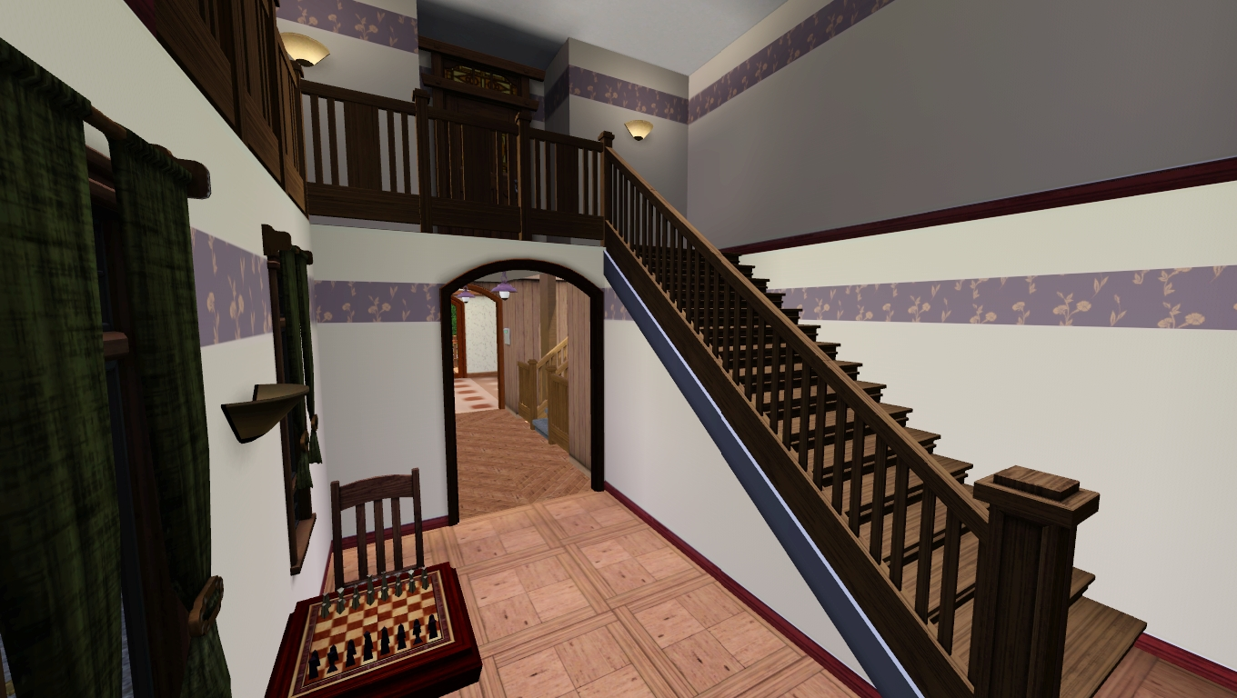 Guest house stairs 2