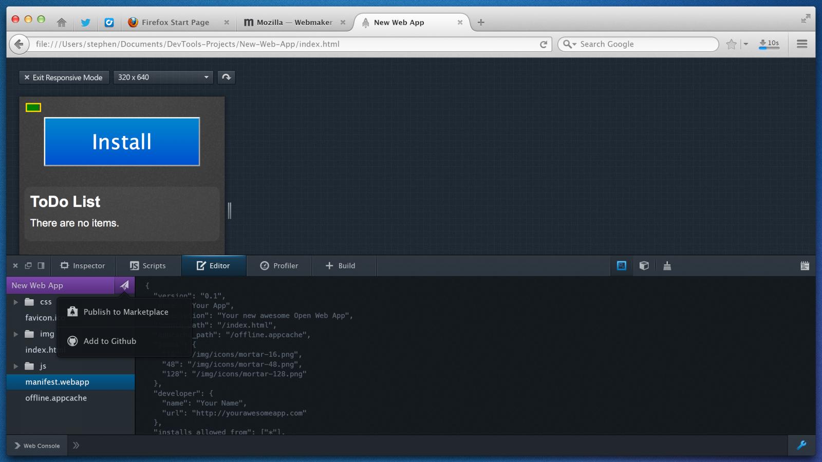 DevTools-i04-BuildTab-04-(WebApp-Share)-@2x