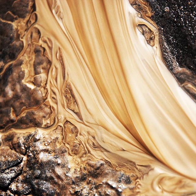 Sand in Water - Sylvain Meyer