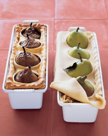 Pear-Sausage Pie Menu