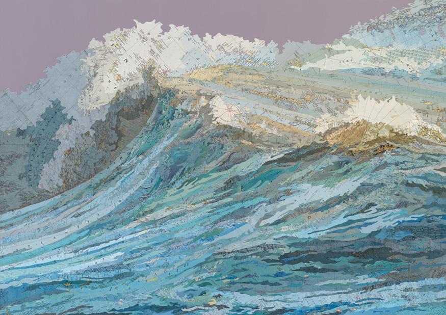 The Rachel's Wave - Matthew Cusick