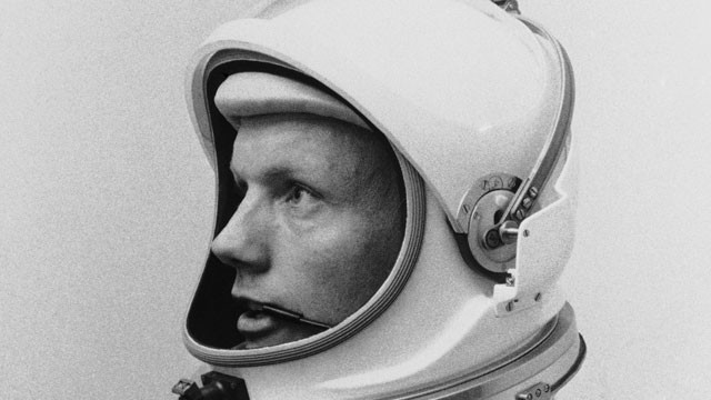 Astronaut Neil Armstrong, pilot for the Gemini VIII mission…