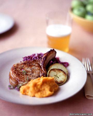 Braised Pork Chop Menu
