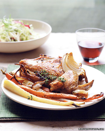 Garlic-Chicken Menu