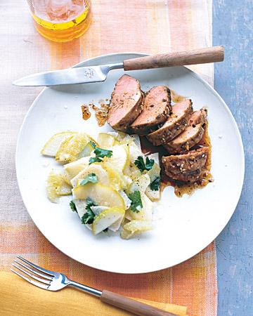 Chili-Rubbed Pork Menu