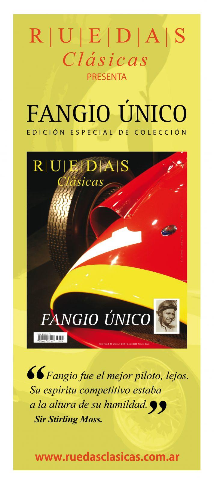 Banner Ruedas Clásicas Edición Especial Fangio