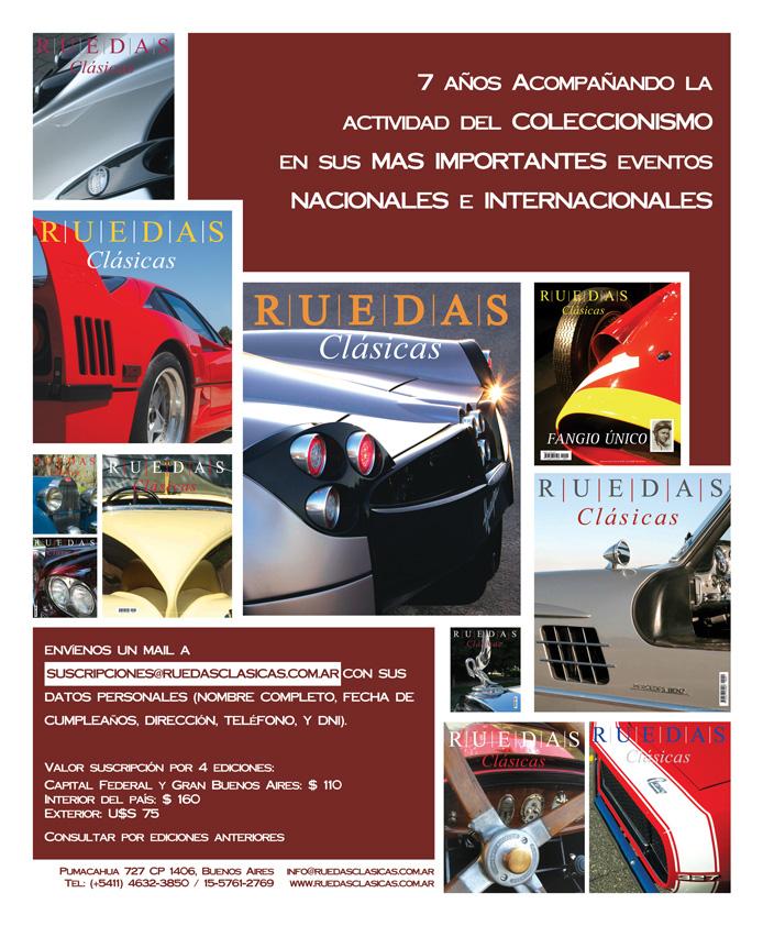 Aviso institucional Ruedas Clásicas