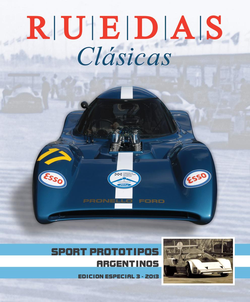 Tapa de la Edición Especial N°3 de Ruedas Clásicas