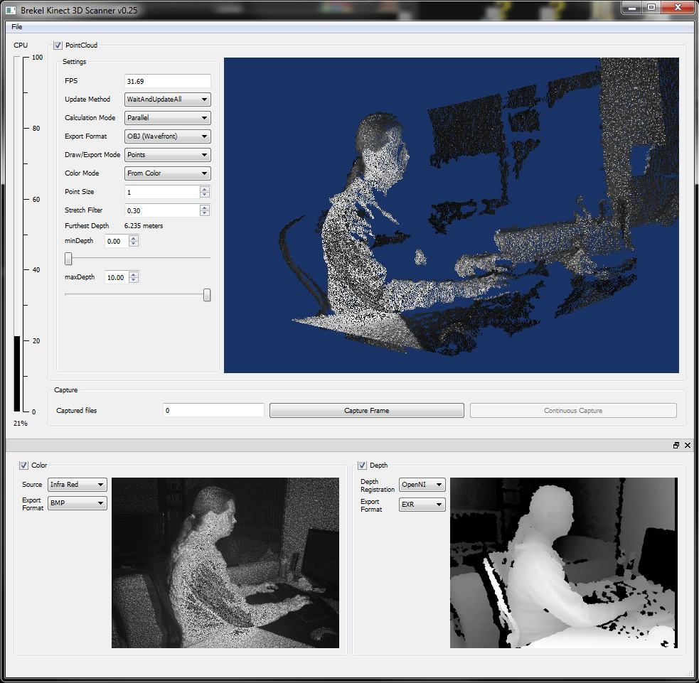 kinect-3D-scanner-GUI-infrared