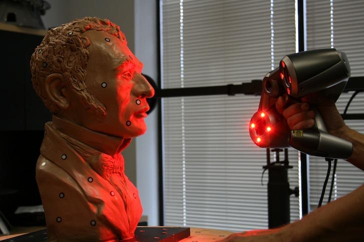 3d scan of sculpture