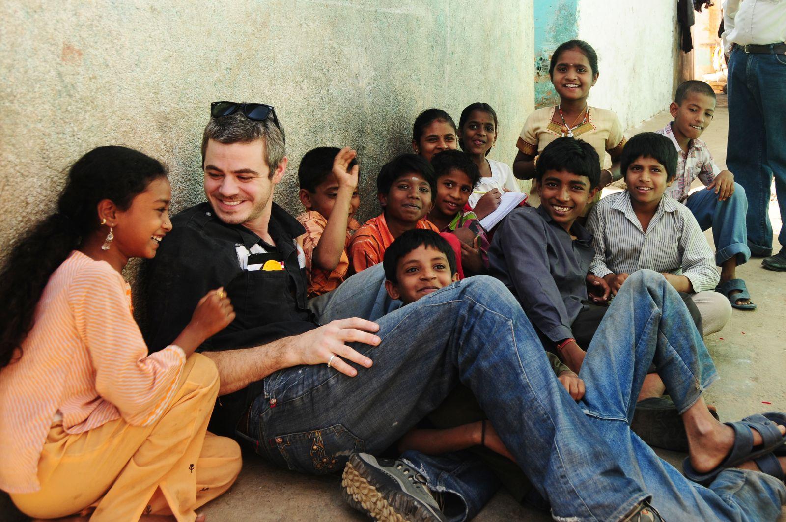 Scott in India